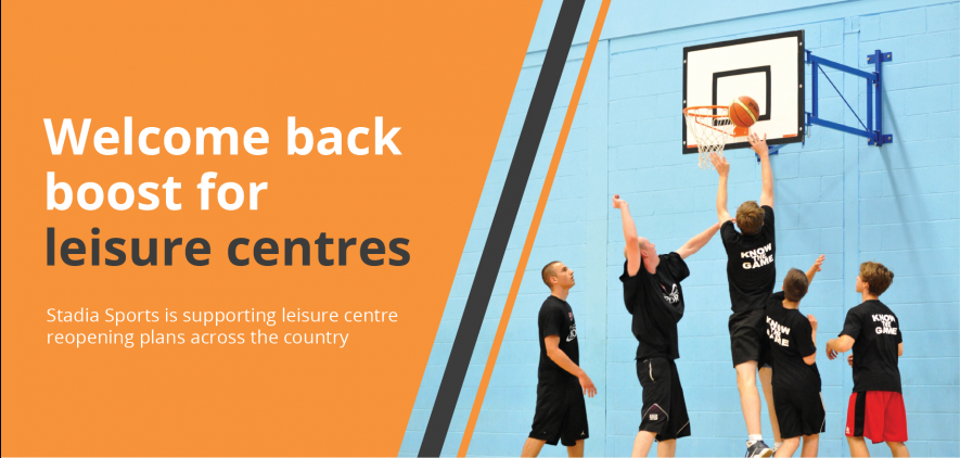 Welcome back boost for leisure centres