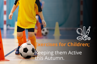 Exercises to Keep Children Active this Autumn