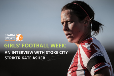 Girls' Football Week: An interview with Stoke City striker, Kate Asher
