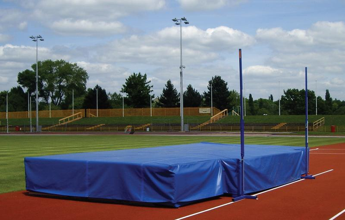 Stadia Rain Proof Covers for Pole Vault Landing Areas