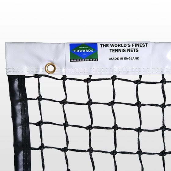 Edwards Championship Tennis Net 3.5mm with Vinyl Coated Fabric Headband