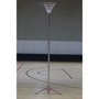 Stadia Wheelaway Club Netball Posts - Pair complete with nets