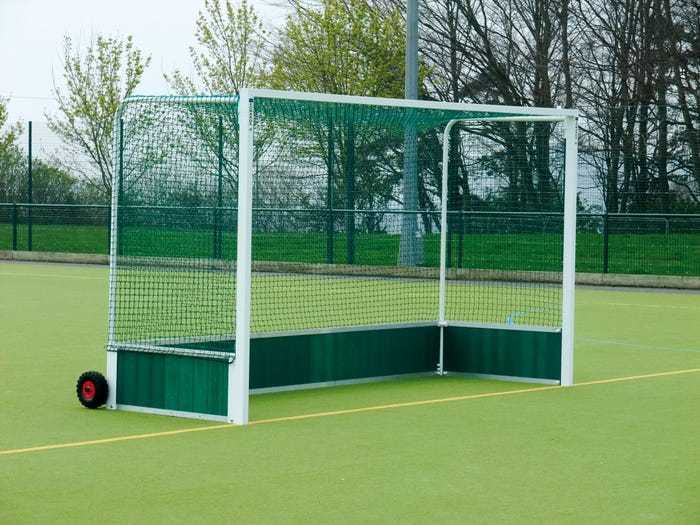 Self Weighted Hockey Goal Posts