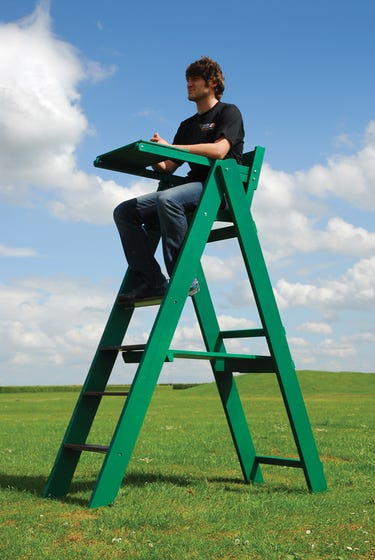 Wooden Umpire's Chair