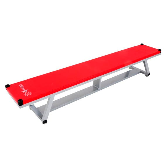 Sure Shot Light Weight Alu Bench 1.8m - Red