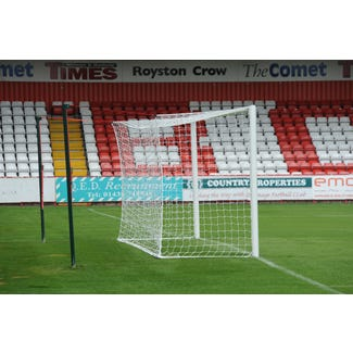 Pair of Football Goal Nets to suit 24'x8' Box Shaped Goals | 4.5mm Braided Polyethylene