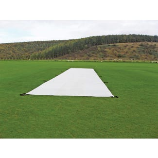 Stadia's Wicket Protection Sheets - Layflat Sheet (25m x 4m) - Standard 200 gsm