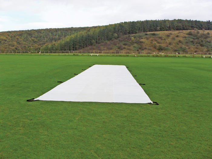 Stadia's Wicket Protection Sheets - Layflat Sheet (25m x 4m) - Heavy 350 gsm