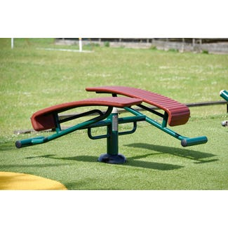 double sit up bench |outdoor incline bench | outdoor fitness equipment from Sunshine Gym