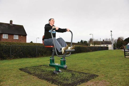 Rower | outdoor rowing machine | outdoor fitness equipment from sunshine gym