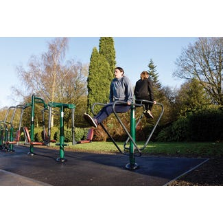 Parallel Rails |Outdoor parallel bars | outdoor fitness equipment from sunshine gym