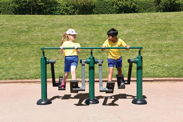 Children's Double Health Walker | Children's Double Air Walker | Children's outdoor fitness equipment from Sunshine Gym