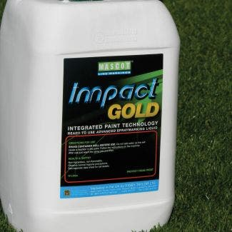 Rigby Taylor Impact Gold Spray Paint - 10 Litre Container