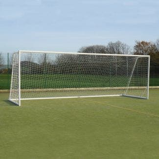 80mm Aluminium Freestanding Football Goals Package - 16' x 7'