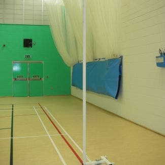 Stadia Floor Fixed Sports Hall Netball Posts