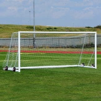 Freestanding Aluminium Football Goals Package - 16' x 7'