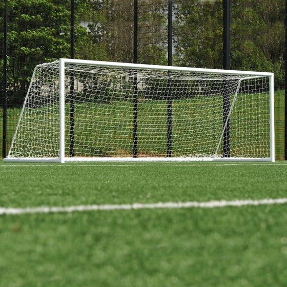 Quick Release Freestanding Football Goals Package - 21' x 7'