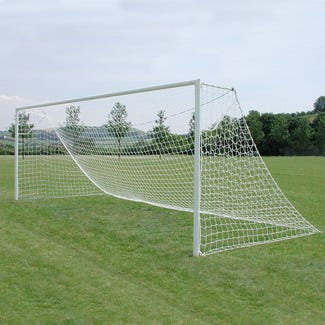 Socketed Steel Football Goals Package - 16' x 6'